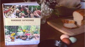 Brand New Book Trailer for Handmade Gatherings!