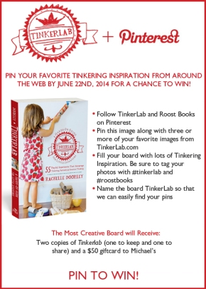 Tinkerlab Pinterest Contest!