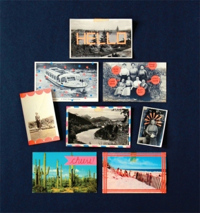 Free Project: Neon Photo Postcards from Make and Give