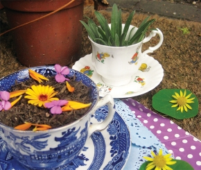 Free Project: Mud Pie Tea Party from The Garden Classroom