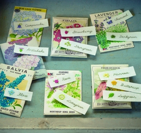 Free Project: Colors of Spring from The EmbroideredGarden